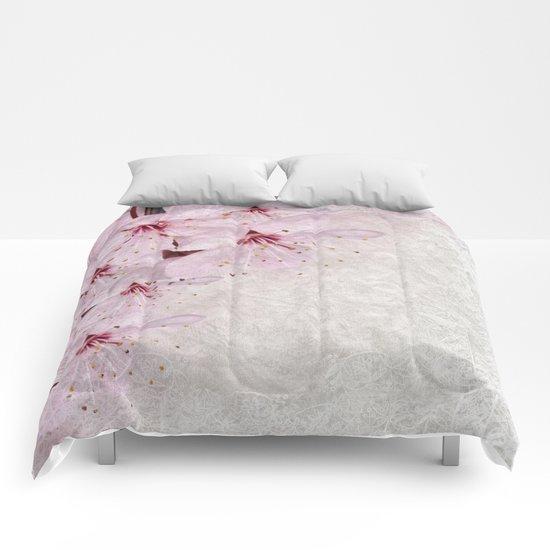 Sakura Blossoms 01 Comforters