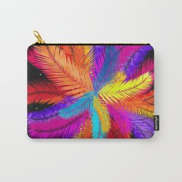 Palm Fronds Explosion Carry-All Pouch
