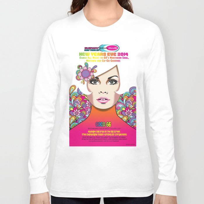 """NYE 2014"" Subway Soul by Dawn Carrington Long Sleeve T-shirt"