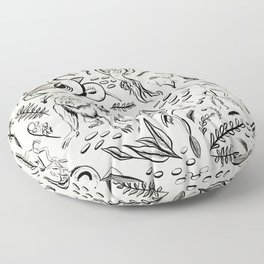 Fantastic Beasts Floor Pillow