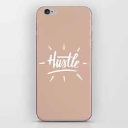 Hustle Rose Gold iPhone Skin