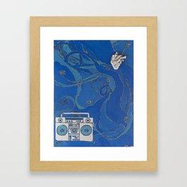 Dilla and David Framed Art Print