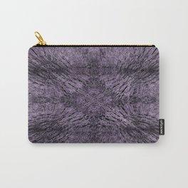Mandala Motion Purple Carry-All Pouch