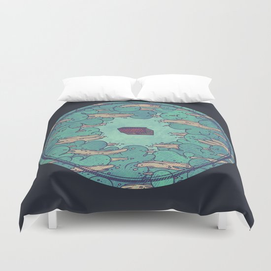 Away from Everyone Duvet Cover