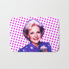 Betty White - Pop Art Bath Mat