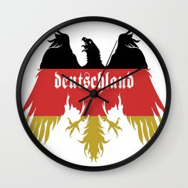 Deutschland-Flag-Colors-of-Germany Wall Clock