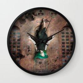 Peta of the Western Wall Wall Clock