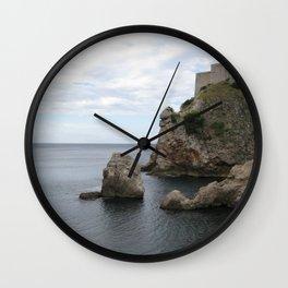 Edge of it All Wall Clock