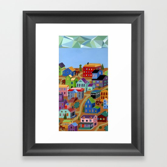 Tigertown Framed Art Print