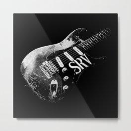 Stevie Ray Vaughan-Number one - Guitar-Blues-Rock-legend Metal Print