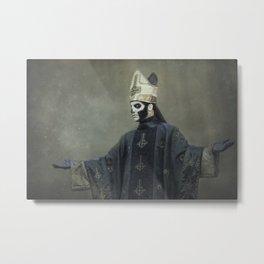 Ghost - Papa Emeritus III Metal Print