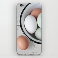 eggs iPhone & iPod Skins featuring Eggs by Schaepman & Habets