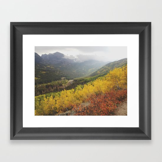 Rocky Mountain Colors Framed Art Print