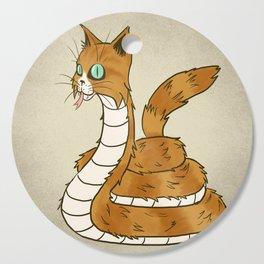 Cat Snake Cutting Board
