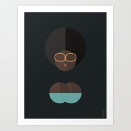 BLACK MAGIC WOMEN / Assireni Art Print