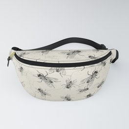 House Fly chaos Fanny Pack