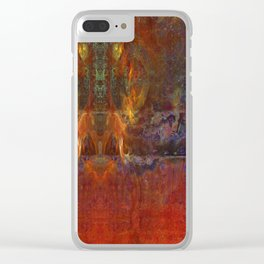 Zappa -r Clear iPhone Case