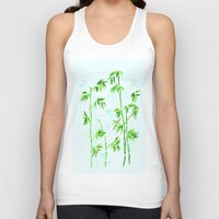 poetry Tank Tops featuring Japanese Poetry by Mivi Saenz on Aqua Expressions