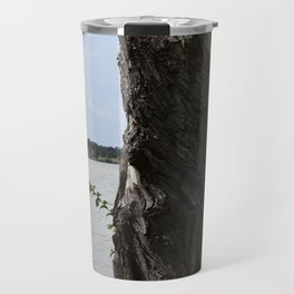 Twisted Tree Trunk Travel Mug