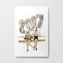 NYE 2017 Metal Print