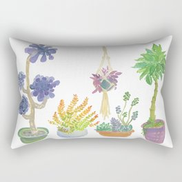Lisa's Garden Rectangular Pillow