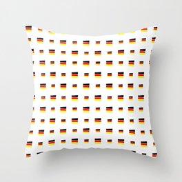 Flag of Germany 5 handmade Throw Pillow