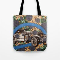 car Tote Bags featuring Car by Aimee Alexander