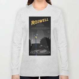 Aliens Over Roswell Long Sleeve T-shirt