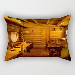 Officers Quarters Fort Clatsop - Lewis And Clark Rectangular Pillow