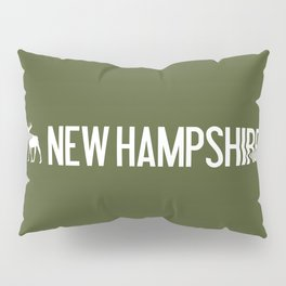 New Hampshire Moose Pillow Sham