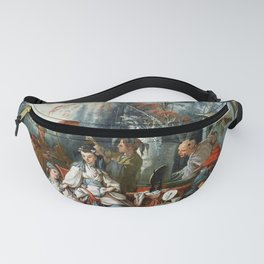 The Chinese Garden - Francois Boucher Fanny Pack