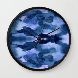 Indie blue Wall Clock