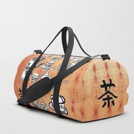Chinese Tea Doodles 2 Duffle Bag