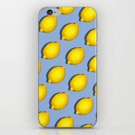Yellow Lemons iPhone Skin