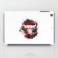 chicago bulls iPad Cases featuring Bulls Splatter by OhMyGod, SoGood!