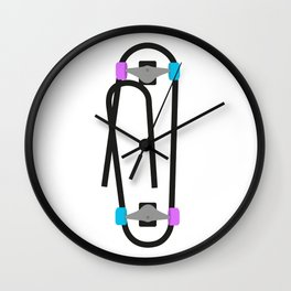 Clipboard Wall Clock