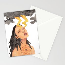 Earth connection Stationery Cards