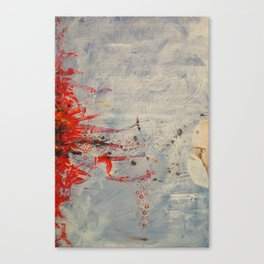 did anyone else see that? Canvas Print