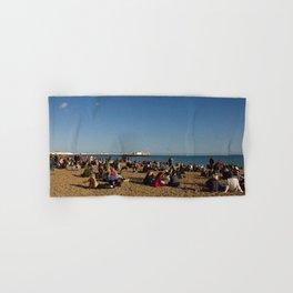 Busy Brighton Beach Hand & Bath Towel