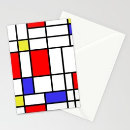 Mondrian #60 Stationery Cards