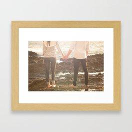 hold on to me Framed Art Print