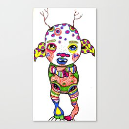 Marked Canvas Print