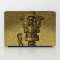 superheroes iPad Cases featuring Superheroes SF by Rob Colvin Art