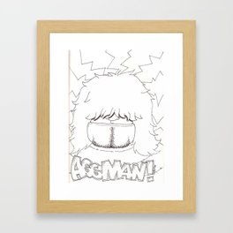 AssMan! Framed Art Print