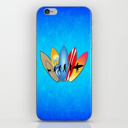 Surfing Evolution iPhone Skin