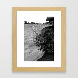 Stairs in Oslo II Framed Art Print