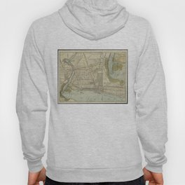 Vintage Map of Niagara Falls NY (1893) Hoody