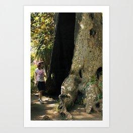 Fairy in a Tree! Art Print