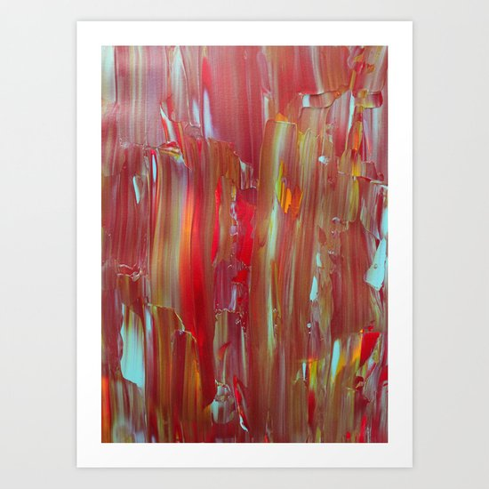 Abstract Painting 32 Art Print