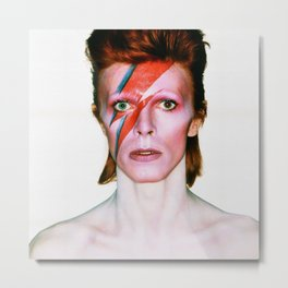 David Bowie Portrait Metal Print